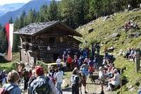Traditionelles Gsieser Almhüttenfest