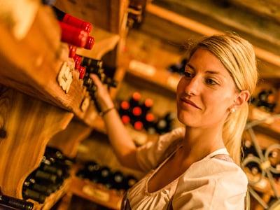 Weinverkostung mit Sarah