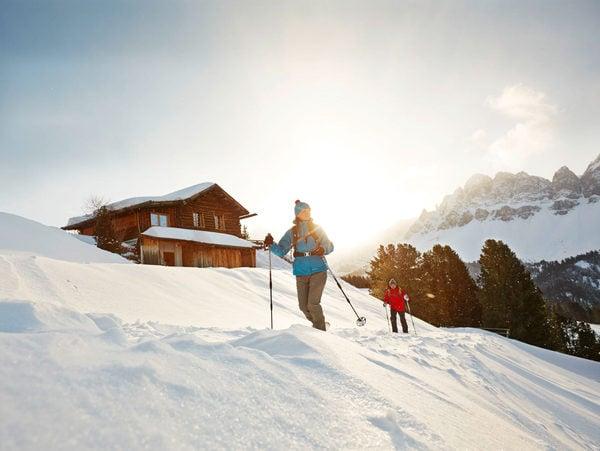 Snow Shoe Hiking