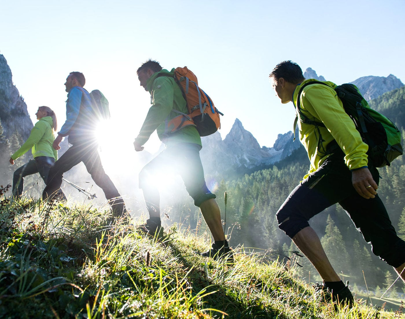 Wandern - Gesundheit für Körper und Geist.