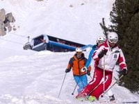 Schluss mit Ski tragen!