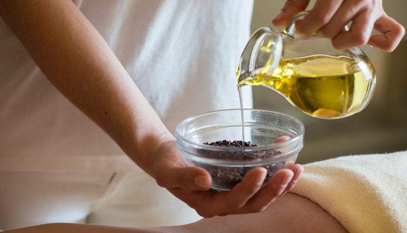 Wellness mit Naturprodukten