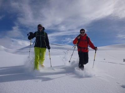 Geführte Skisafari & Schneeschuhwanderung