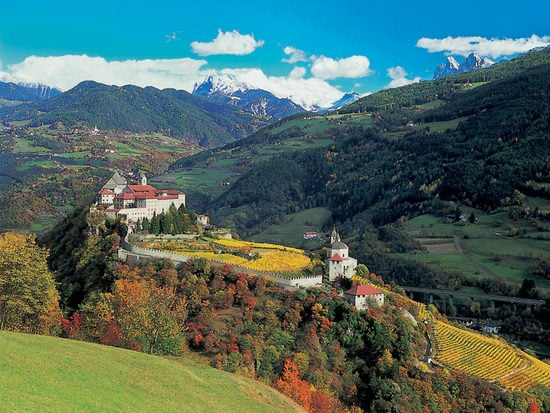 Isarco Valley: Towns with spectacular scenery