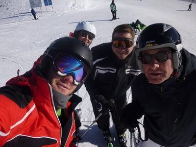 Die ersten Skitage sind Geschichte!