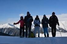 Schneeschuhwanderung auf das Kalksteinjöchl (2349m)