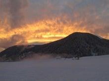 Cielo ardente a S. Maddalena in Val Casies