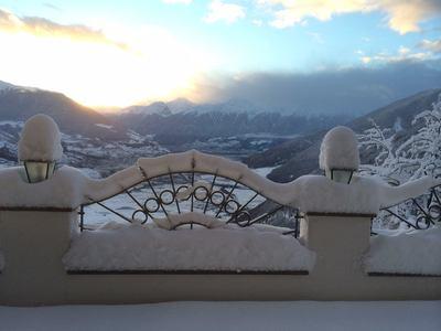 Tolle Winterlandschaft rund um das  Alpin Relax Hotel Gerstl