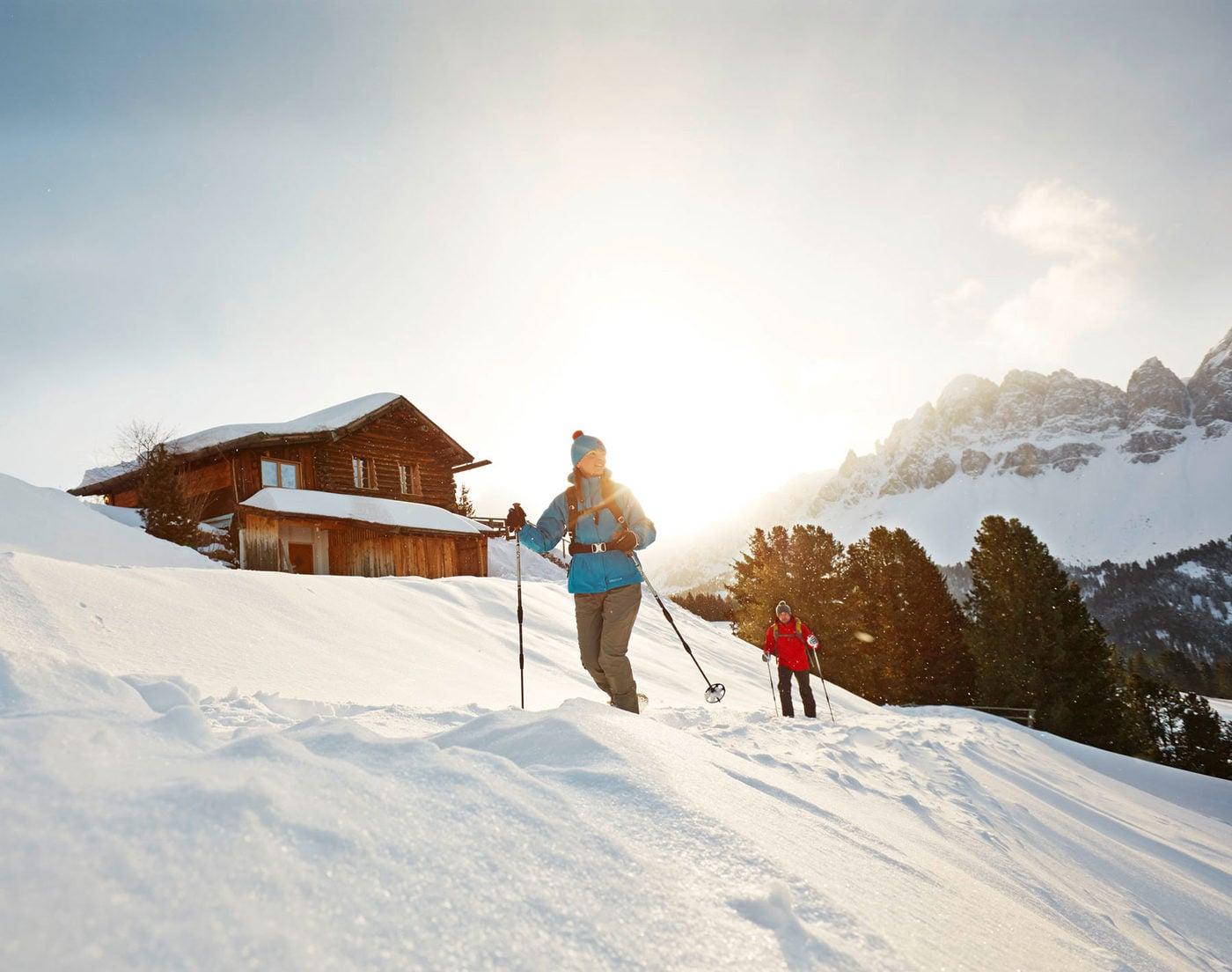 Escursioni con le racchette da neve