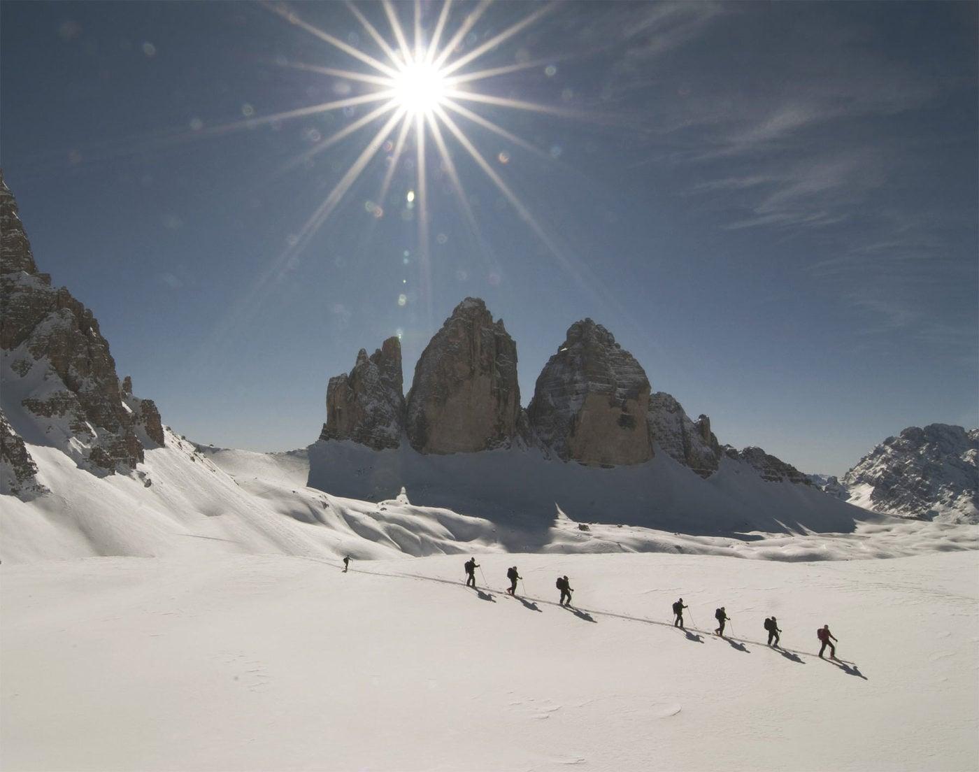 Skitouren durch Südtirol
