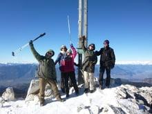 Gipfelstürmer im Winter...
