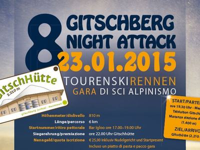 Tourenskirennen am Gitschberg