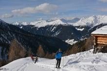 Almwanderung mit den Schneeschuhen