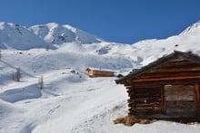 Schneeschuhwanderung zu den Pfinnalmen im Gsiesertal