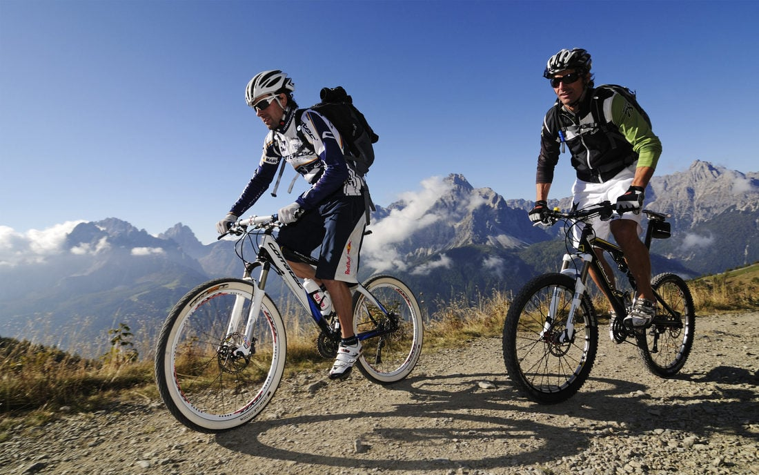 Tours in mountain bike & more