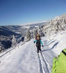 Traumhafte Skitoure bei traumhaften Bedingungen