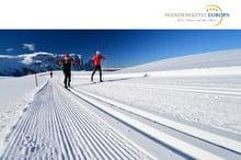 Dolomiti Nordic Ski auf der Seiser Alm