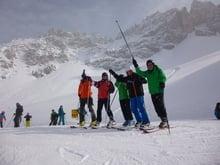 Skischaukel Obereggen - Cermis