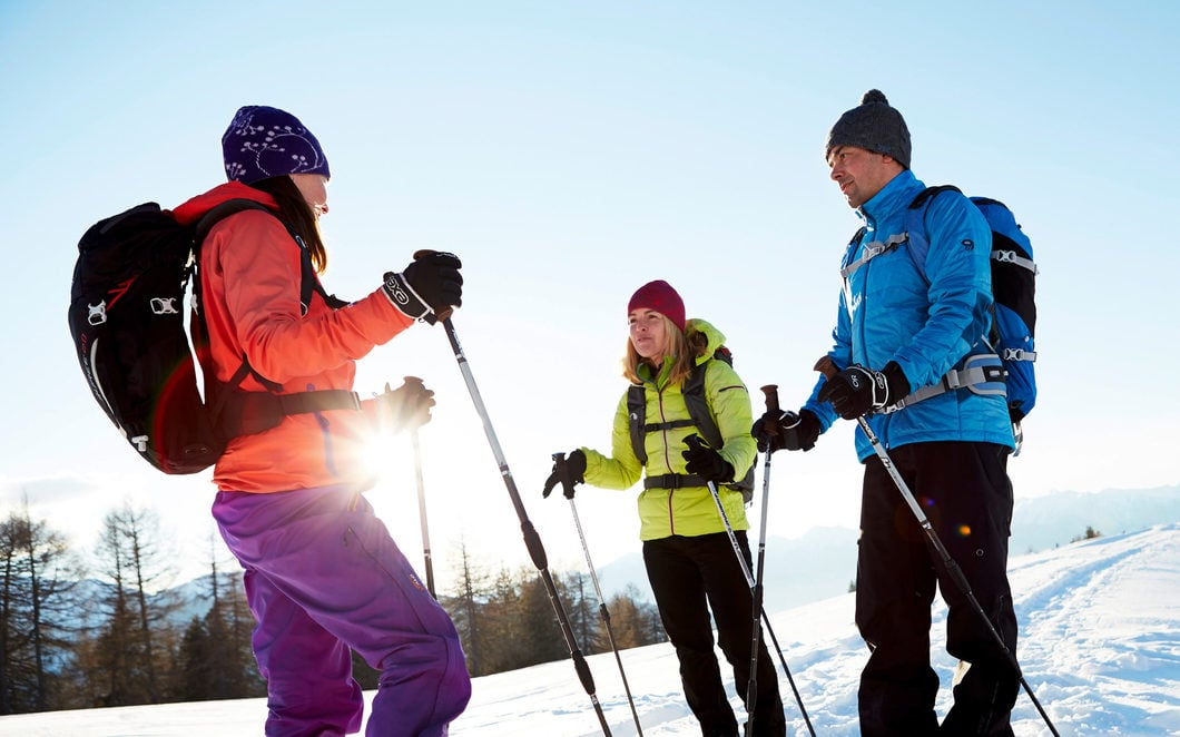 Grundausrüstung bei Skitouren