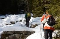 Geführte Schneeschuhwanderung zu den Pfinnalmen (2100m)