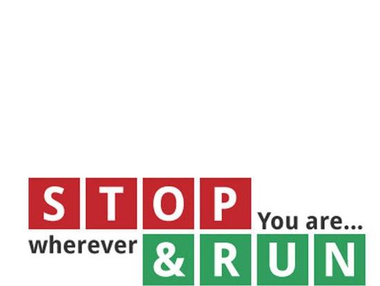STOP & RUN