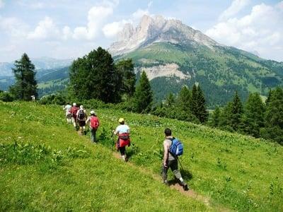 Frühlingswanderung in den Dolomiten