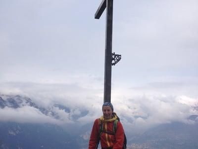 La nostra guida alpina Heike