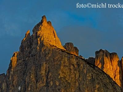 Johann Santner - The men who climbed first Santners Peak