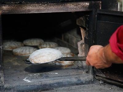 Fare il pane fresco al Gassenhof