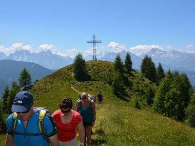 Escursione panoramica sul Cornetto (2127m)