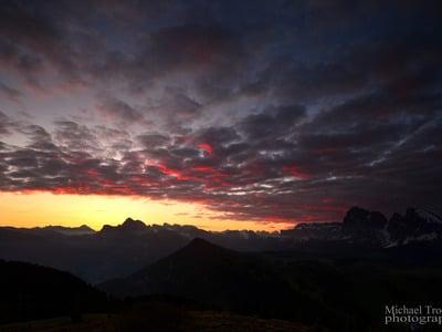 Sogni tropicali tra le Dolomiti