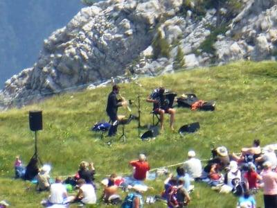 Logenplatz bei den Suoni delle Dolomiti