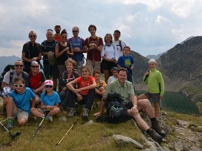 Dalla Valle Pfoi al Lago Nero (2445m)