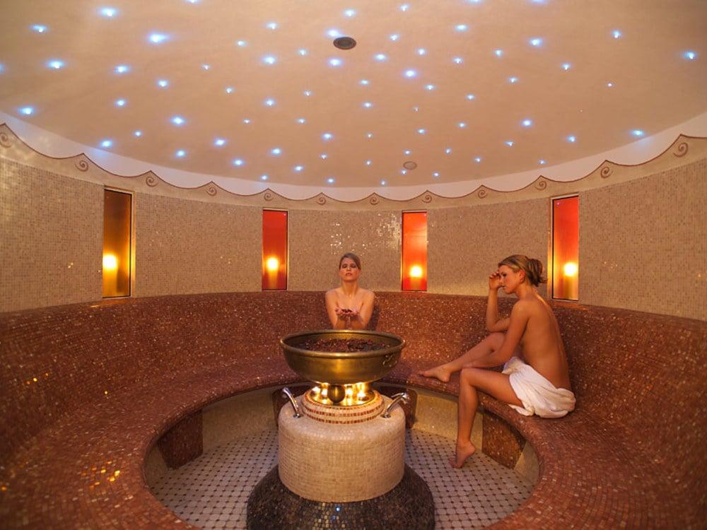 The world of sauna at Hotel Europa