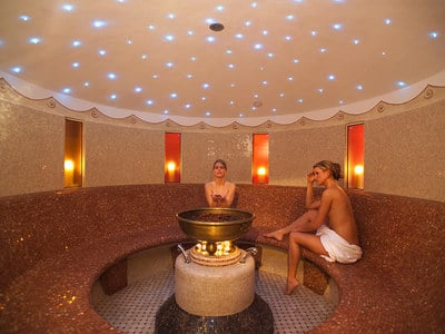The world of sauna at Hotel Europa