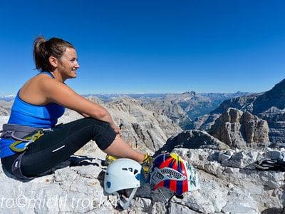 Klettersteigwahnsinn in den Dolomiten