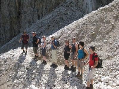 Escursione nelle Dolomiti