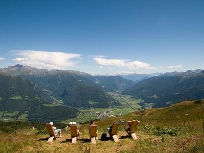Monte Cavallo  grande alpeggio e una splendida vista panoramica