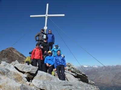 Escursione guidata sul monte Fernerköpfl (3249m)