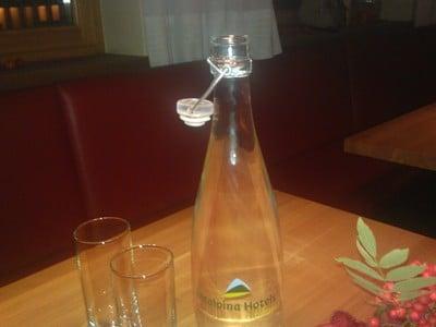 Frisches Quellwasser im Vitalpina Hotel Pfösl