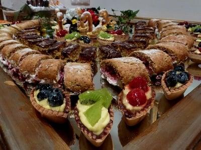 Dessertbuffet von unserer Konditorin Margareth