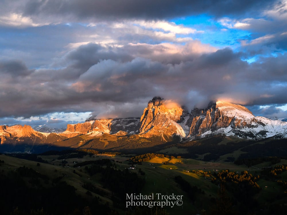 Live on stage: the Dolomites