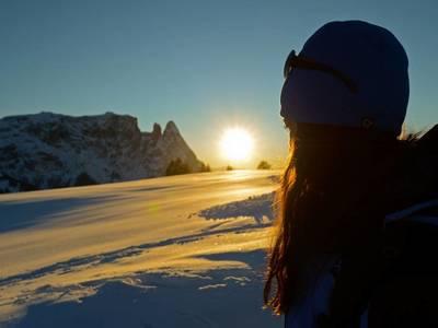 Escursioni invernali sull'altopiano piú grande d'Europa