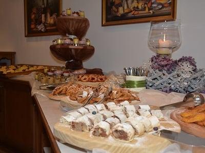 Buffet di dessert al Magdalenahof