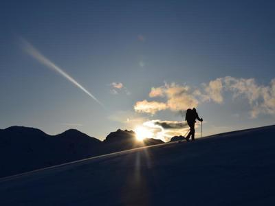 Schneeschuhwandern im Vinschgau