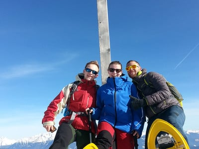 Ciaspolata guiata sull'Alpe di Rodengo e Luson