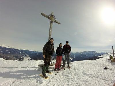 Geführte Schneeschuhwanderung auf die Kreuzwiesenalm