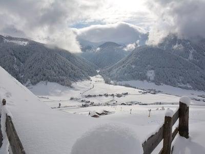 Neve fresca anche all'est dell'Alto Adige