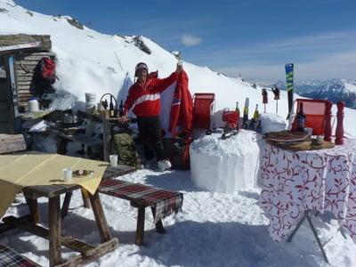 """...nostro """"bar di neve""""!"""