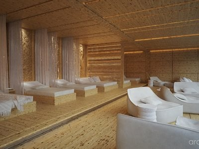 Neuer Saunabereich ab Dezember